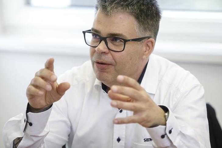 Simon András, Siemens: jelentős megtakarítások érhetők el a mérőeszközökkel és különösen a rá épülő elemzésekkel.