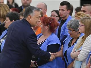Orbán: az a cél, hogy az ország gazdasági teljesítményének felét magyar családi vállalkozások adják