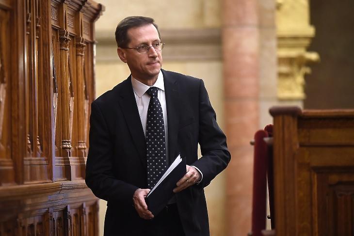 Varga Mihály pénzügyminiszter. Fotó: MTI/Kovács Tamás