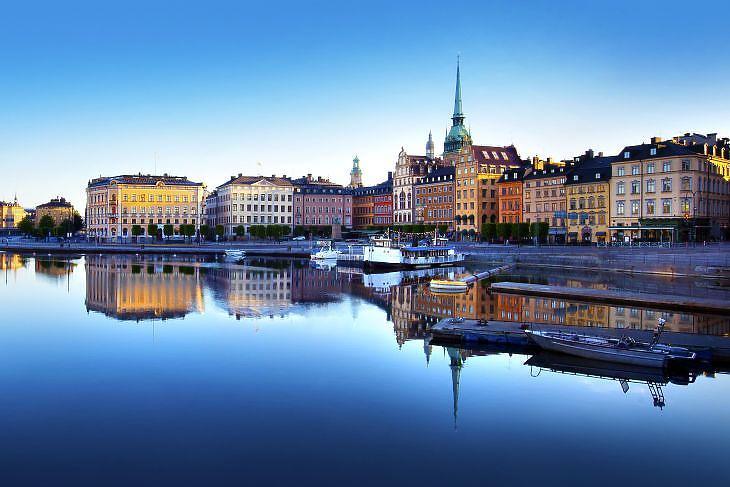 Stockholm, Svédország. (Forrás: Depositphotos)