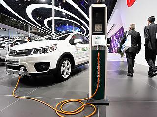 Óriásit zuhant Kínában az elektromos autók eladása