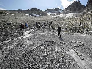 Drámai ütemben olvadnak az Alpok gleccserei