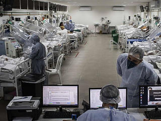Egy nap alatt 180 ezerrel ugrott meg az új koronavírus-fertőzöttek száma a világban