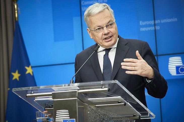 Didier Reynders, az Európai Bizottság igazságügyi biztosa (Forrás: Európai Tanács)