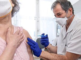 Az oltásra szorulók 19,5 százaléka kapta már meg legalább az első dózist