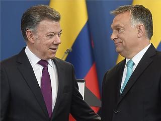 Orbán szerint sokat tanulhatunk Kolumbiától