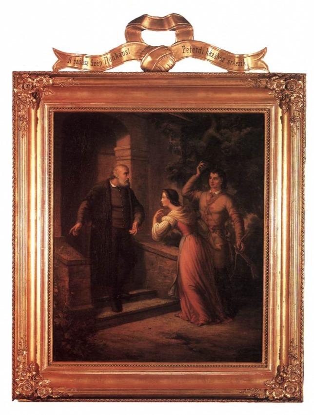 A Szép Ilonka sorozat egyik darabja (Forrás: Wikimedia Commons/Fine Arts in Hungary