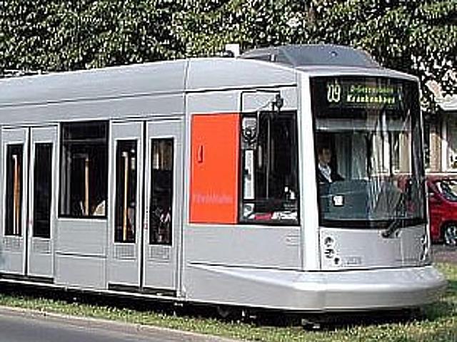 Combino Düsseldorfban (Németország)