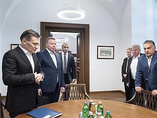 Paksról egyeztetett Orbán Viktor az oroszokkal