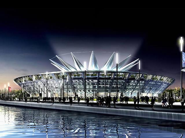 A pekingi olimpia stadionjainak látványtervei