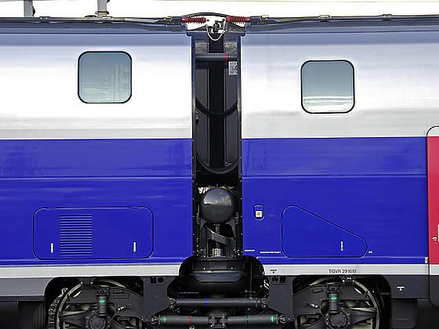 A V150-es TGV-szerelvény