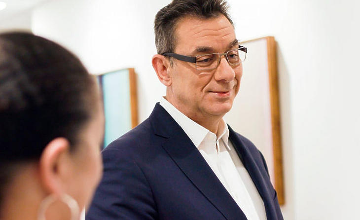 Albert Bourla, a Pfizer vezérigazgatója (Forrás: pfizer.com)