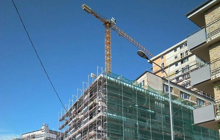 Az új építésű társasházaknál átláthatóbb szokott lenni a vitás kérdések rendezése (Fotó: mfor.hu)