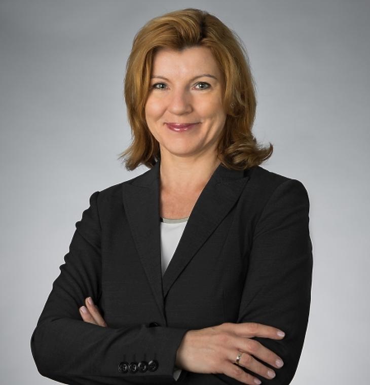 Veres Mónika, a Dell Kliens megoldásokért felelős értékesítési vezetője Magyarországon és a dél- és északkelet-európai régiókban