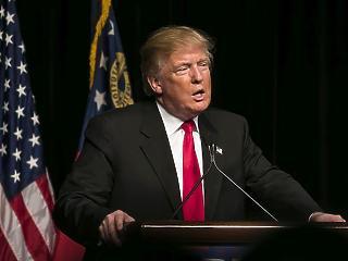 Jó hírt kaphat október végén Donald Trump