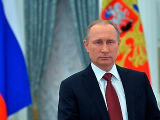 Letette az esküt Vlagyimir Putyin