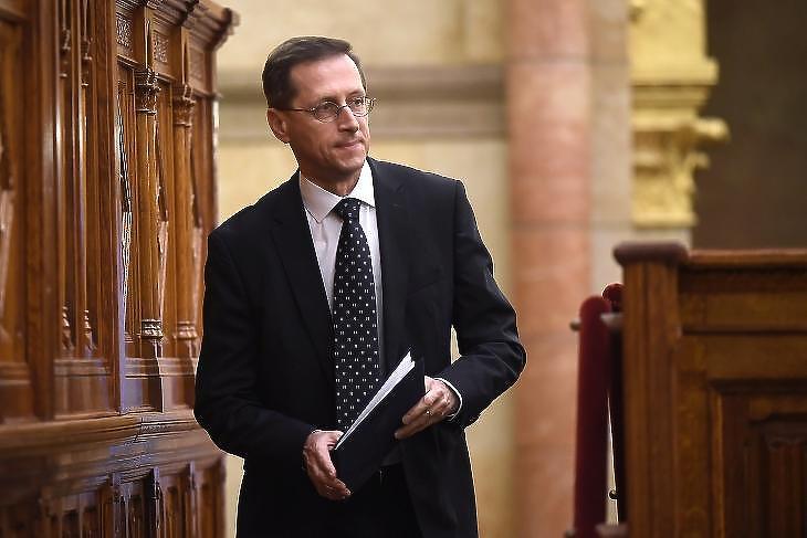 Varga Mihály pénzügyminiszter (Fotó: MTI/Kovács Tamás)