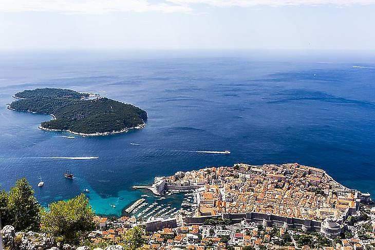 Csodás horvát tengerpart (Fotó: Pixabay)