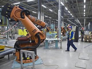 Már két éve is 5600 robot dolgozott Magyarországon
