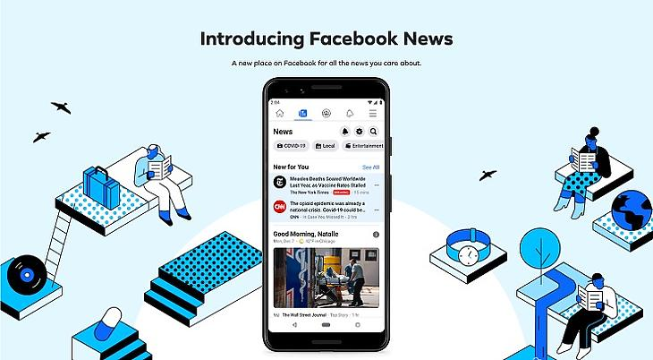 A Facebook News a mobilhasználókat célozza
