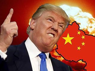 Ma megy neki Kínának Trump, de a visszakezes pofon sem marad el