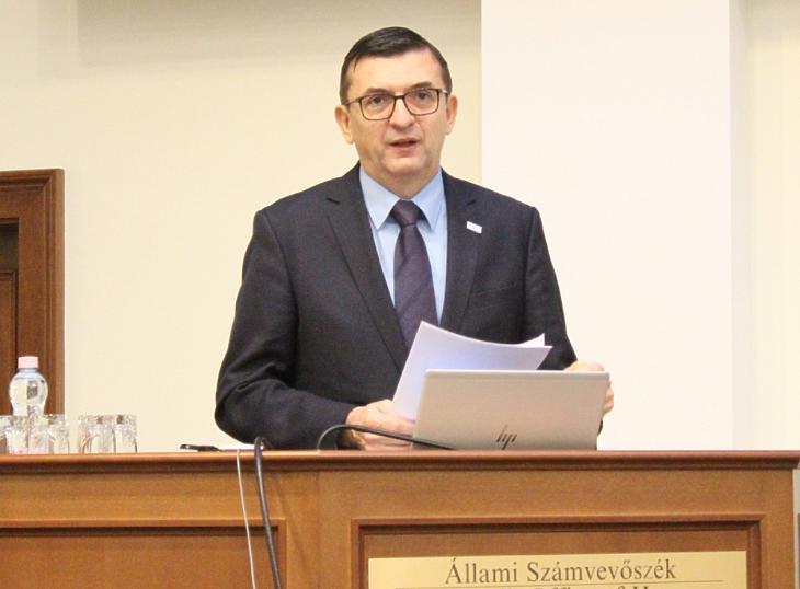 Domokos László, az ÁSZ elnöke (fotó: ÁSZ)