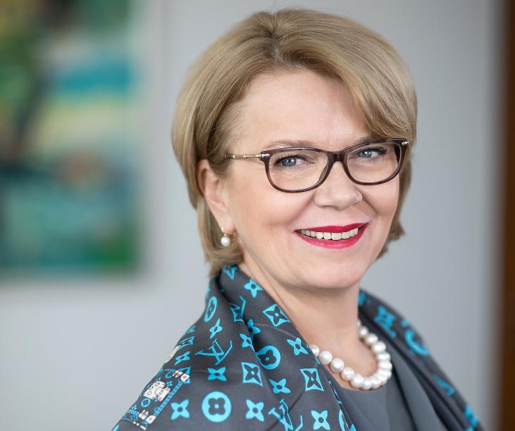 Dr. Búza Éva, a Garantiqa Zrt. vezérigazgatója
