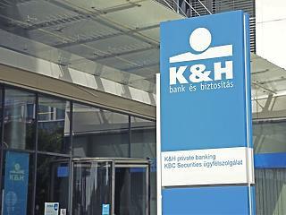 45 milliárd forintos nyereség jött össze októberig a K&H Bankcsoportnál