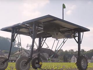 A gyomirtó robotok fenyegetik a hatalmas vegyszergyártók üzleti modelljét