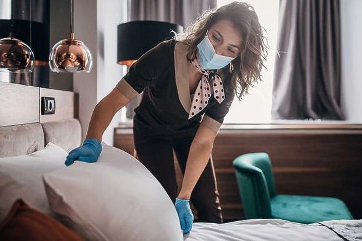 Szinte lenullázta a járvány a hotelpiacot (fotó: Pinterest)