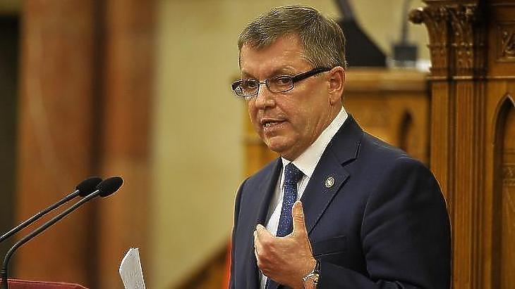 Matolcsy György, a Magyar Nemzeti Bank elnöke