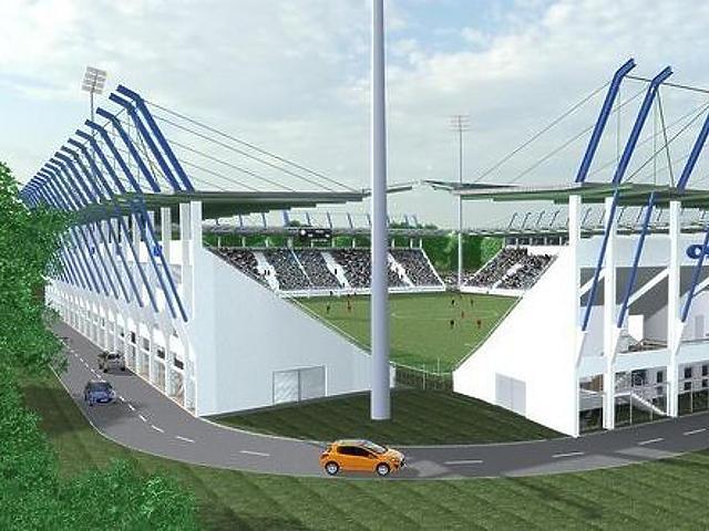 A stadion látványterve