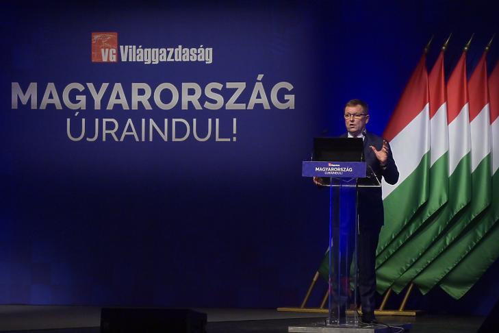 Matolcsy György, a Magyar Nemzeti Bank elnöke (Fotó: MTI/Koszticsák Szilárd)
