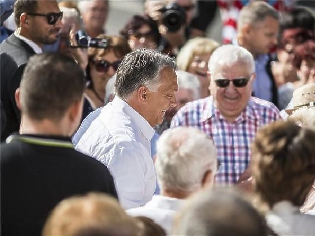 Orbán Viktor idősebb szavazói körében