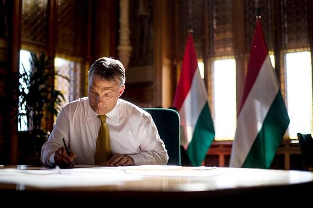 Orbán Viktor (forrás: Facebook)