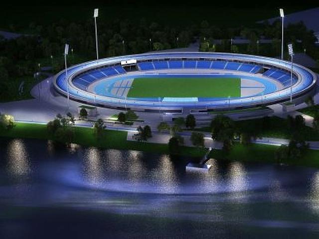 Ilyen lesz a 16,5 milliárdos telken épülő atlétikai stadion