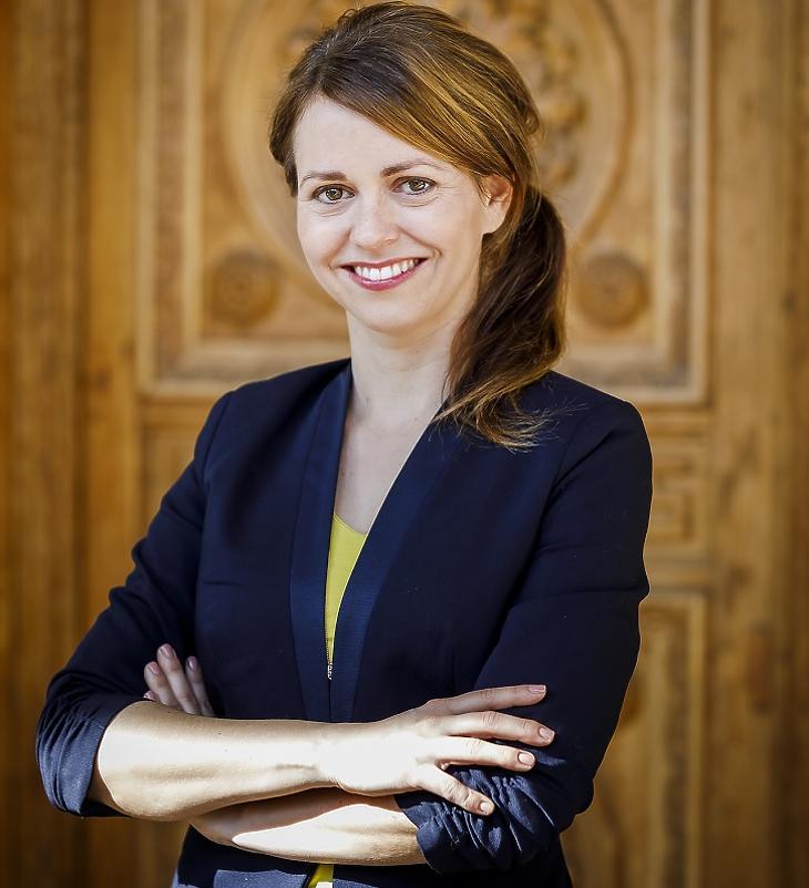 Benedek Eszter, a Magyar Termék Nonprofit Kft. ügyvezetője