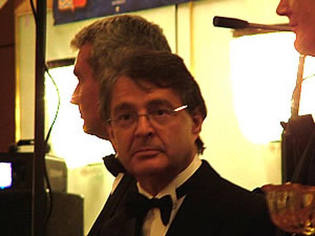 Straub Elek a díjátadáson
