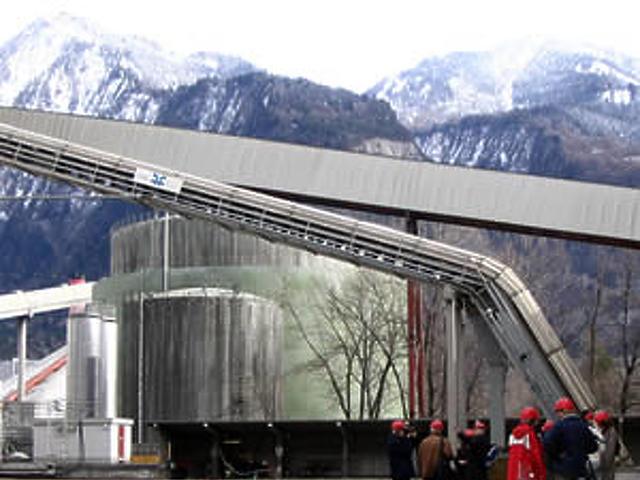 Holcim-gyár a svájci Untervazban 2.