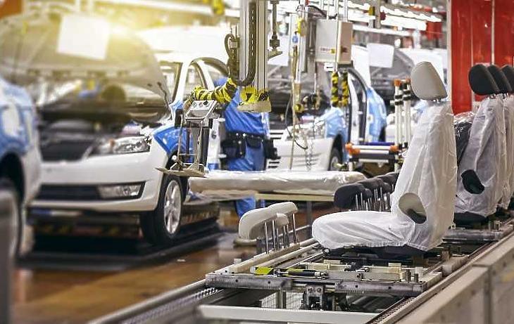 Számos autógyár állt le (illusztráció)