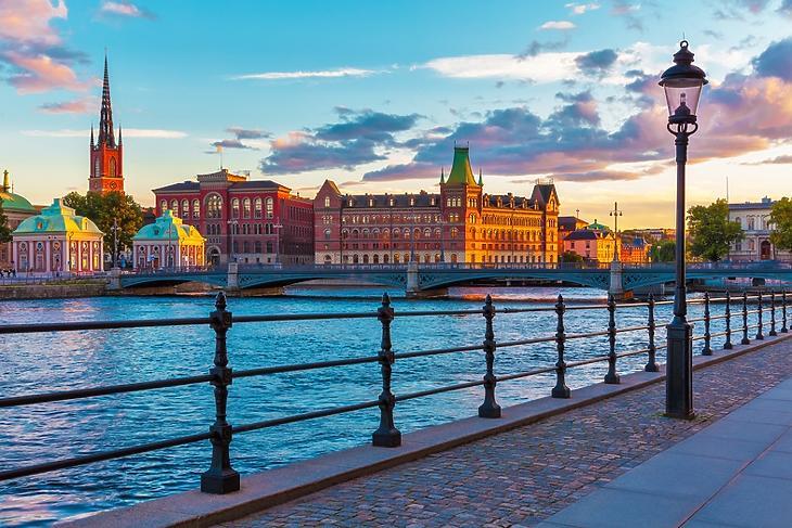 Stockholm (Forrás: Depositphotos/scanrail)