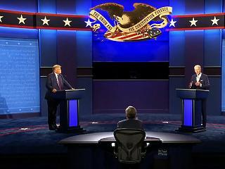 Október végén lesz újabb Trump-Biden tévévita