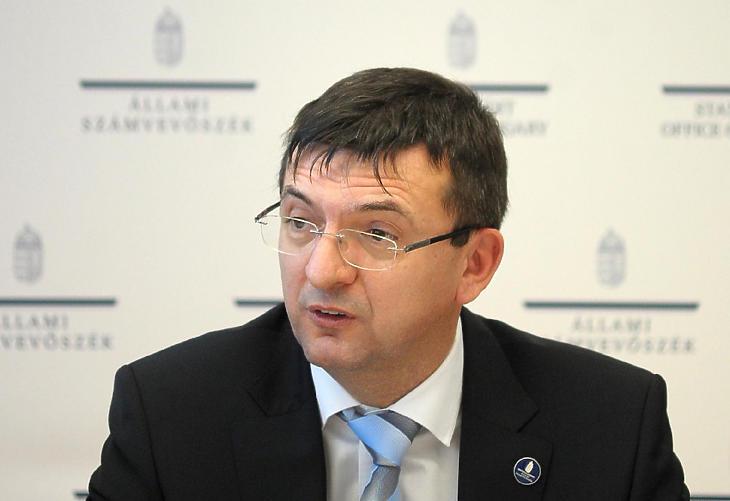 Domokos László, az ÁSZ elnöke (Fotó: MTI)