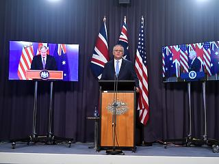 Új szövetséget jelentettek be: atomtengeralattjárókhoz juttatják Ausztráliát