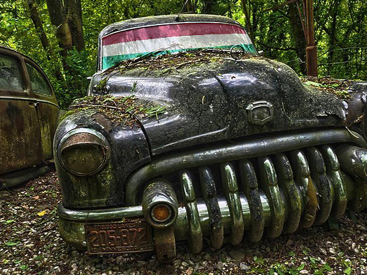 A magyarok többsége tizenéves autókkal jár, már be se viszik a márkaszervizbe.