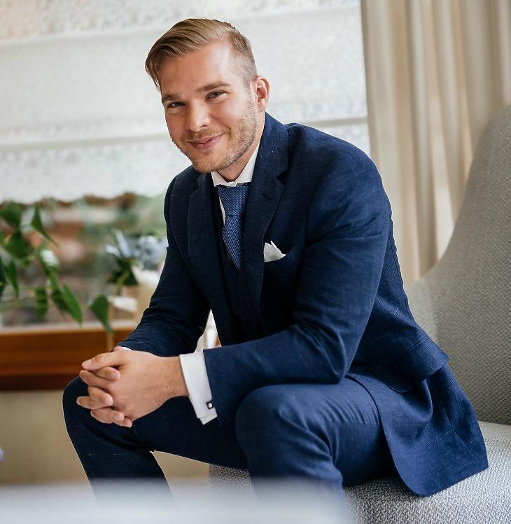 Rohony Miklós, a Szarvasi Mozzarella Kft. marketingvezetője