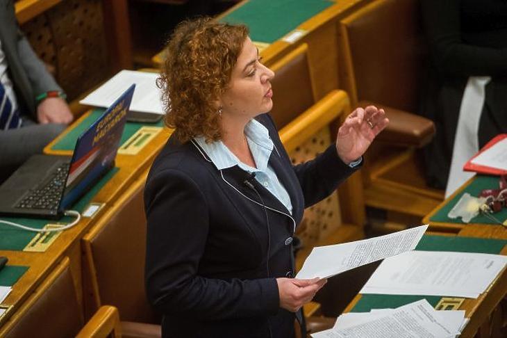 Vadai Ágnes (Fotó: MTI/Balogh Zoltán)