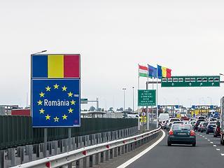 Újra nyitva a magyar-román határ, Nagylaknál egyből ki is alakult egy torlódás