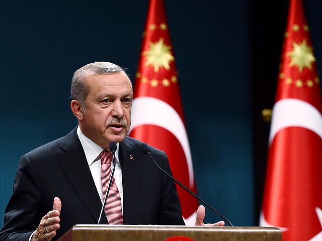 Erdogan, török elnök (Fotó: MTI/EPA)