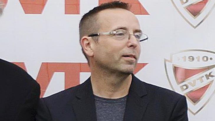 Leisztinger Tamás, a Diósgyőr tulajdonosa (Fotó: MTI)